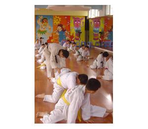 安麒汇滢早教中心跆拳道活动