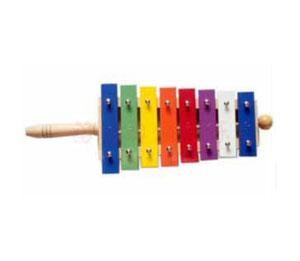 哈哈贝贝音乐课程乐器-铝板琴