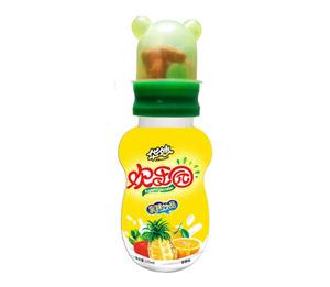 华妙欢乐园125ml橙色彩糖装