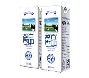 夏进爵品特选牛奶(纯牛奶)