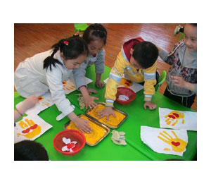 金太阳幼儿园趣味彩绘