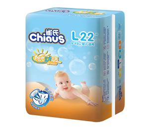 雀氏阳光动吸婴儿纸尿片L22