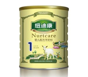 纽迪康婴儿配方羊奶粉850g