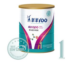 羊羊100羊奶粉-优A-OPO系列1段800克
