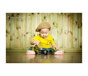 旋转木马儿童摄影--周岁宝宝照