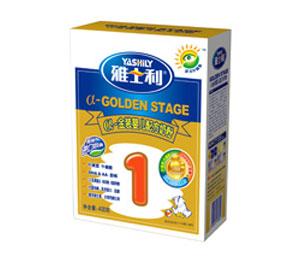 雅士利a金装盒装婴儿配方奶粉1段