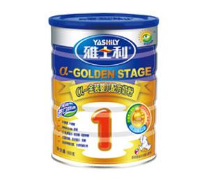 雅士利a金装900g罐装婴儿配方奶粉1段