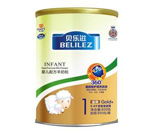 贝乐滋羊奶金装800g1段