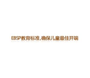 亿婴天使早教中心--EBSP教育标准