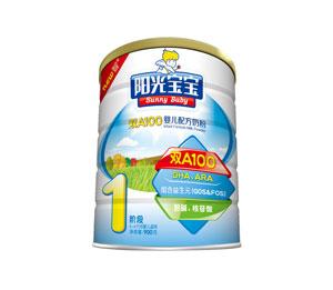 银桥阳光宝宝双A100婴儿配方奶粉1段