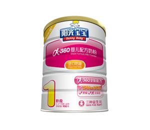 银桥阳光宝宝α-360婴儿配方奶粉1段