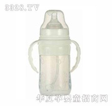 爹地妈咪220ml宽口硅胶奶瓶