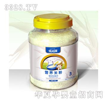 乐米兹绿豆百合配方米粉桶3段